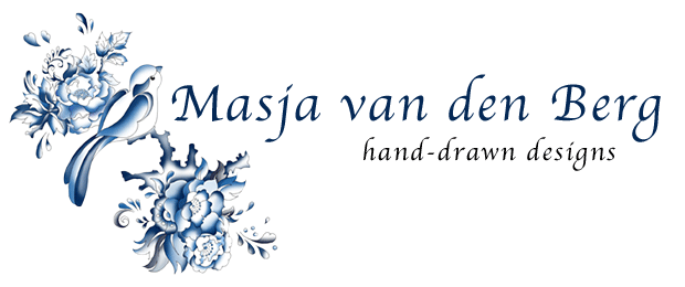 Masja van den Berg  - hand-drawn designs