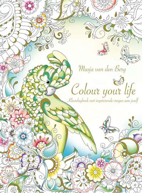 From Holland With Love  - coloring book by Masja van den Berg